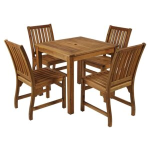 Hardy Set - 1 Table and 4 Chairs